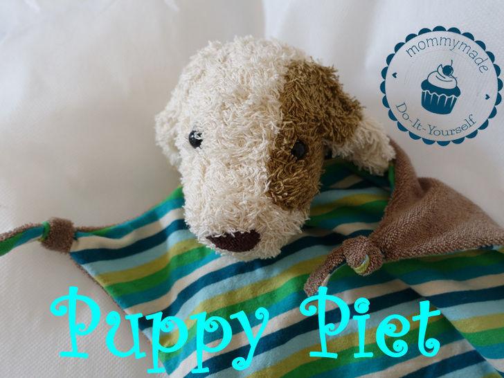 ebook Schmusetuch Puppy Piet Kuscheltuch Hund Welpe  bei Makerist - Bild 1