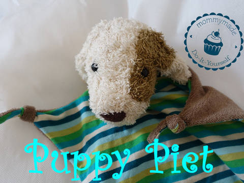 ebook Schmusetuch Puppy Piet Kuscheltuch Hund Welpe  bei Makerist
