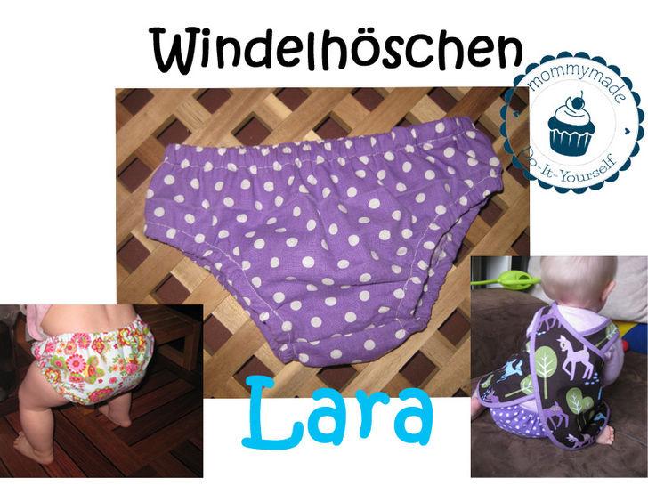 ebook Windelhöschen Baby Windel Überzieher Diaper Cover Schnittmuster Nähanleitung bei Makerist - Bild 1