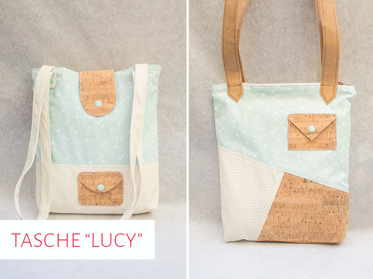 """Schnittmuster Tasche """"Lucy"""" bei Makerist - Bild 1"""