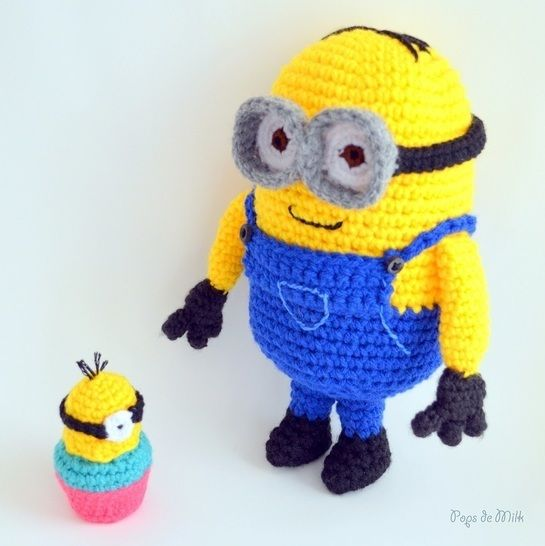 Dave the Minion Crochet Amigurumi at Makerist - Image 1