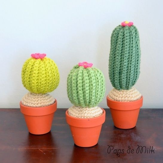 Cactus Crochet Pattern at Makerist - Image 1