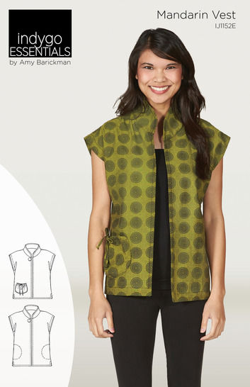 Indygo Essentials - Mandarin Vest at Makerist - Image 1
