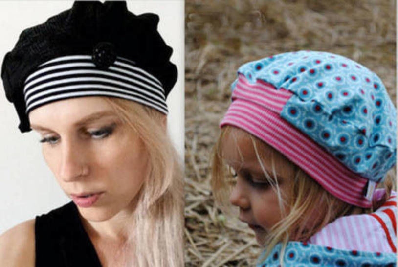 ebook Newsboy Cap MARA 4 Sizes (HC 42 - 58)  at Makerist - Image 1