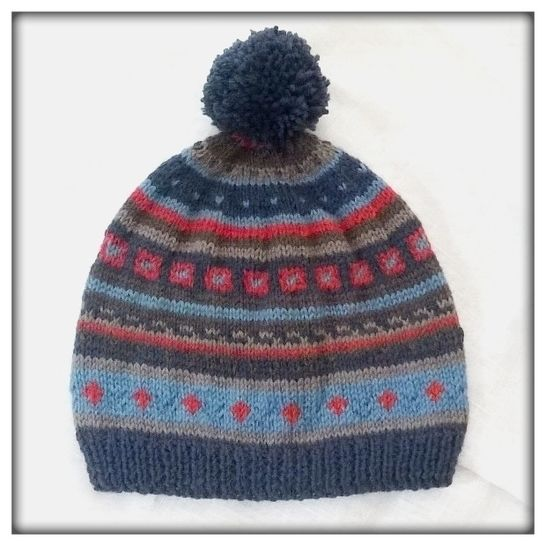 """Lennart"" fairisle pattern at Makerist - Image 1"