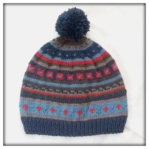 """Lennart"" fairisle pattern at Makerist"