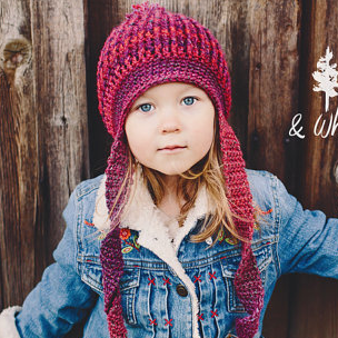 Crochet Hat Pattern Toddler to Women TWISTED SISTER