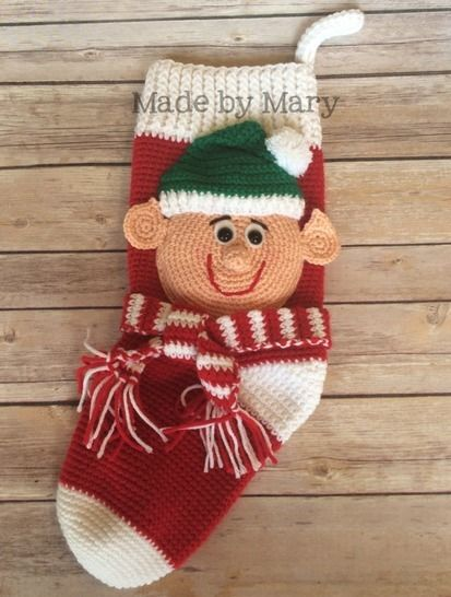 Elf Christmas Stocking at Makerist - Image 1