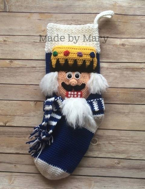 Nutcracker Christmas Stocking at Makerist