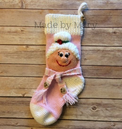 Mrs. Claus Christmas Stocking at Makerist - Image 1