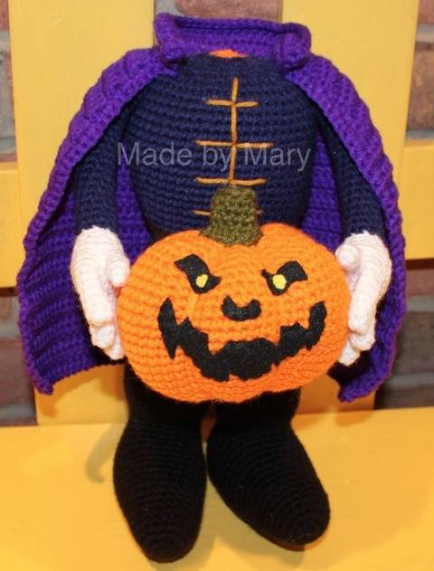 Headless Horseman Amigurumi at Makerist