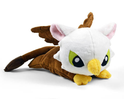 Baby Griffin Plush Toy Sewing Pattern at Makerist