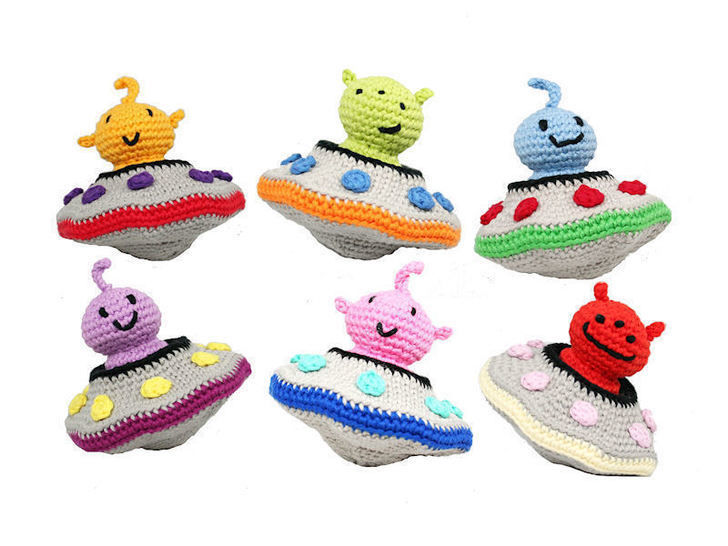 Alien Invasion - Crochet Pattern at Makerist - Image 1