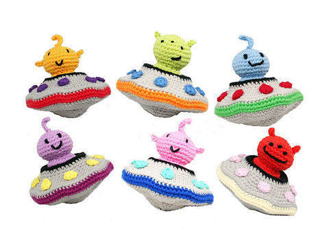 Alien Invasion - Crochet Pattern