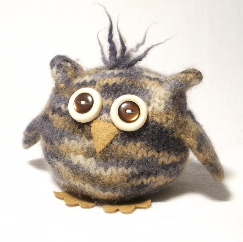 Baby Owl Knitting Pattern