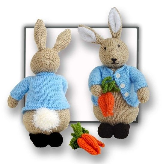 Peter Bunny Toy - Knitting instructions at Makerist - Image 1