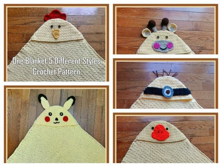 One Blanket – 5 Different Styles – Crochet Pattern at Makerist - Image 1