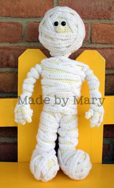 Morris the Mummy Amigurumi at Makerist
