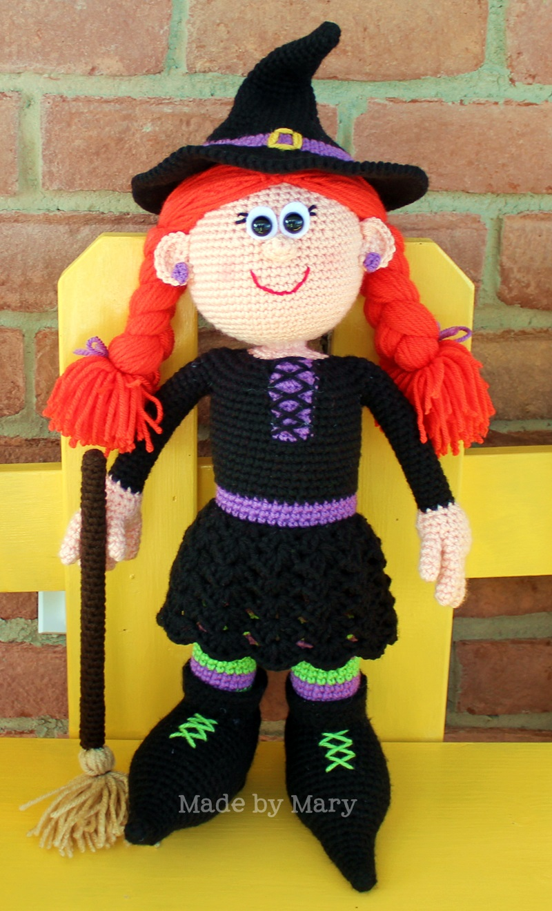 Winifred the Witch Amigurumi