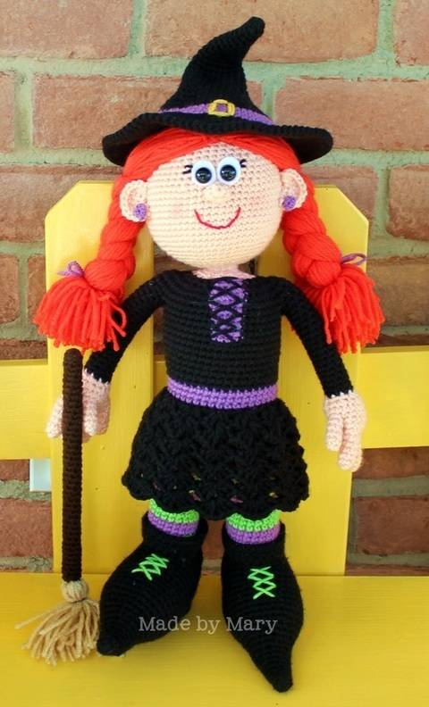 Winifred the Witch Amigurumi at Makerist