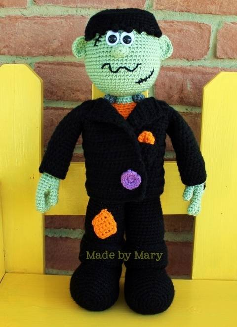 Frankenstein Amigurumi at Makerist