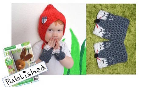 """E-Book """"Little Red Riding Hood-Set"""" size newborn up to 2 years"""