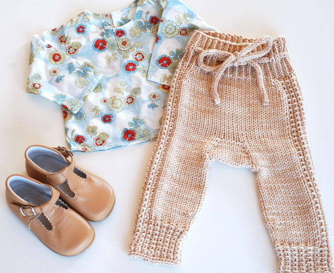 Little Leggings - knitting pattern at Makerist - Image 1