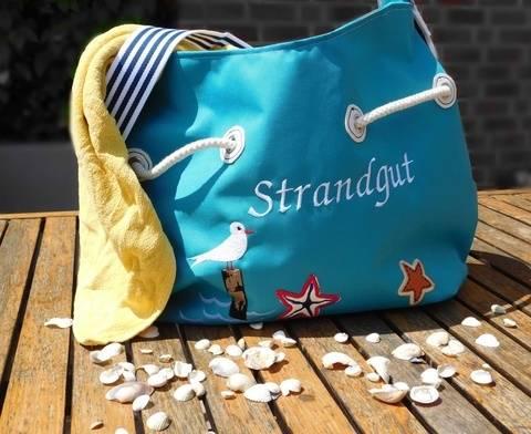 """E-Book """"Bag-Bord"""" Tasche / Strandtasche"""