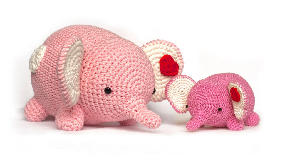 Elephant Amigurumi crochet pattern at Makerist - Image 1