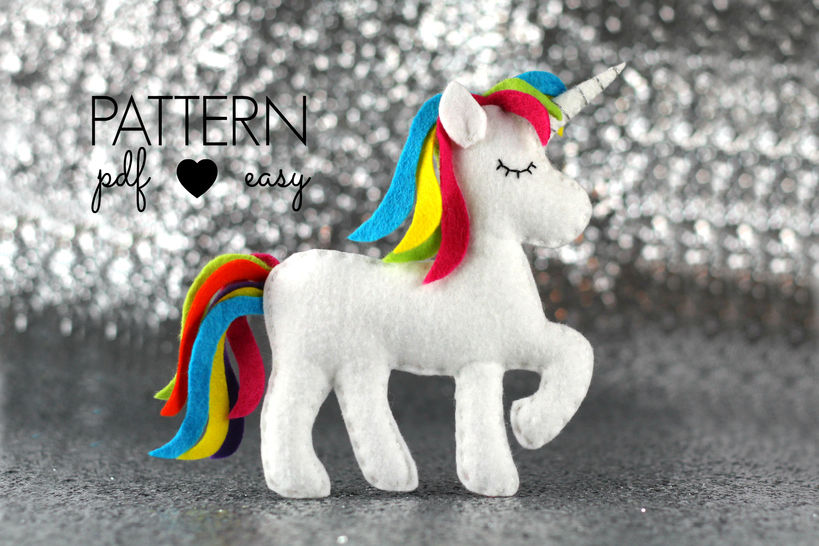 Unicorn Sewing Pattern at Makerist - Image 1