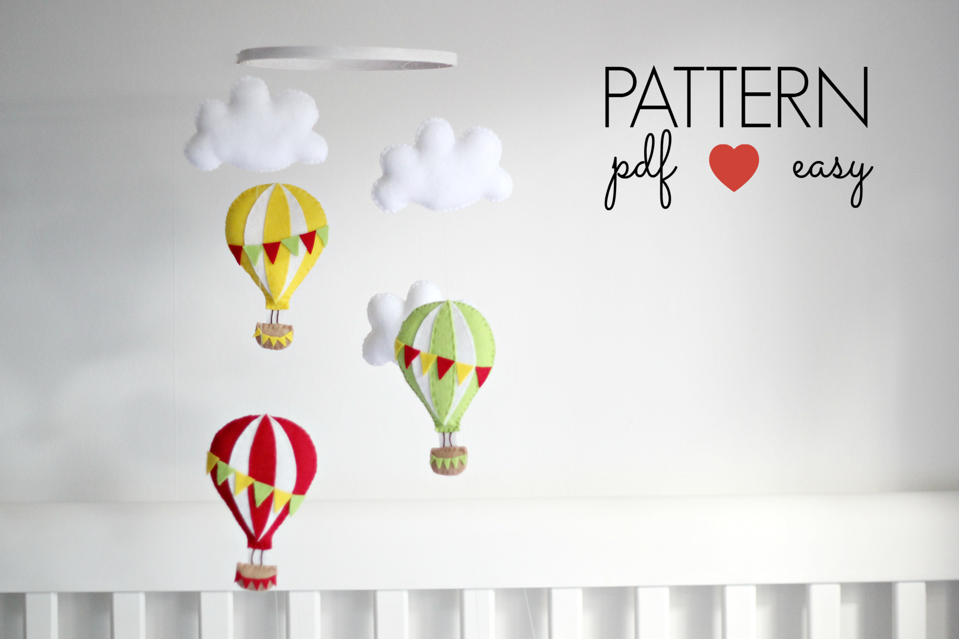 Hot Air Balloon Sewing Pattern