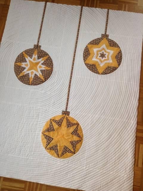 Ornament Quilt - 8 Kugeln von ayliN-Nilya