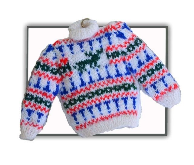1/12th scale Minature Stag Jumper to Knit at Makerist - Image 1