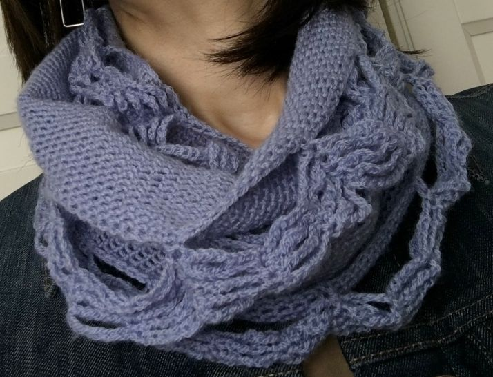Crochet Cowl Pattern (Urban Lace Cowl) at Makerist - Image 1