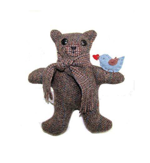 My Message Bear Sewing Pattern   at Makerist