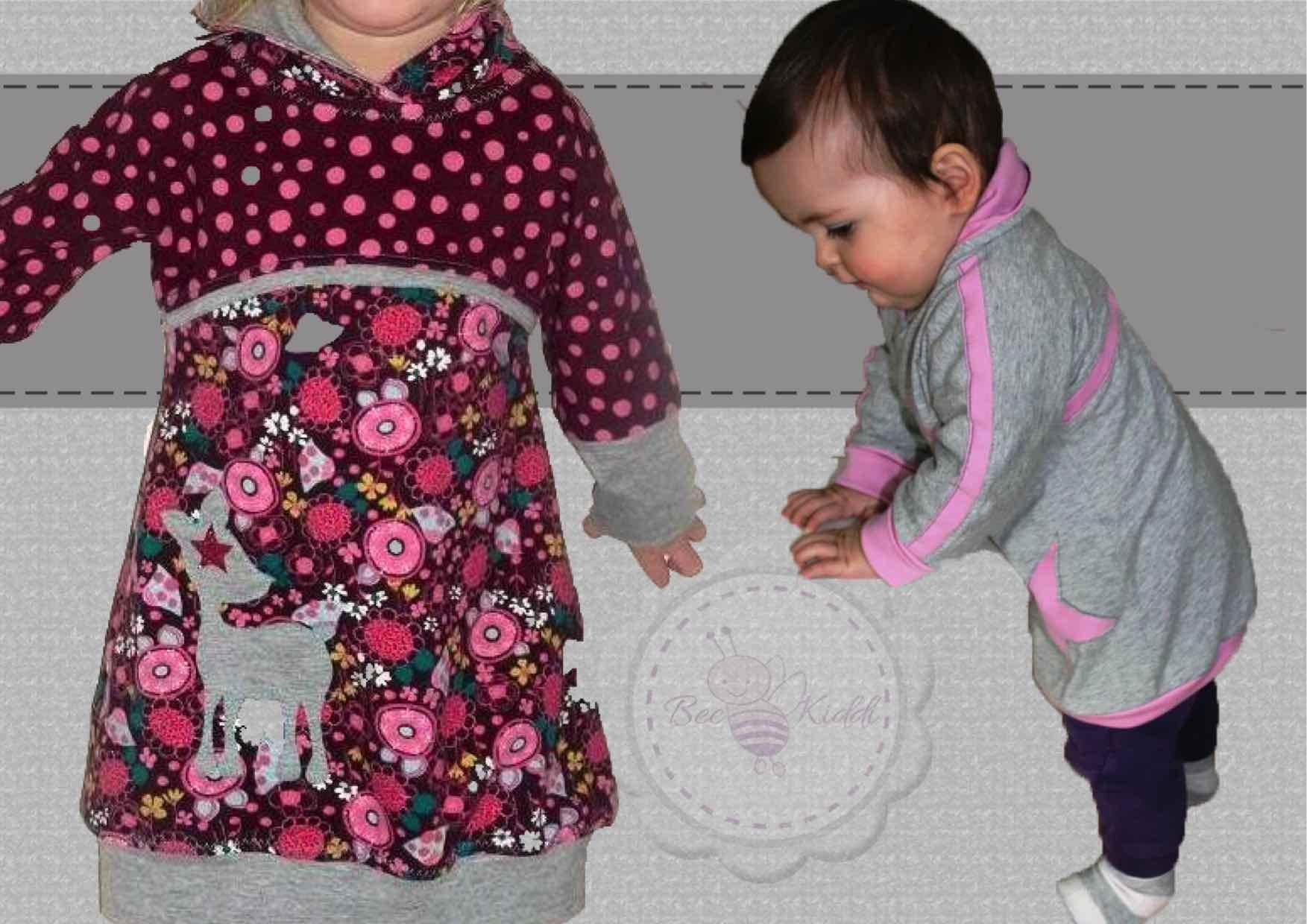 Little BeeDress LongShirt für die Kleinen Gr. 80 - 110