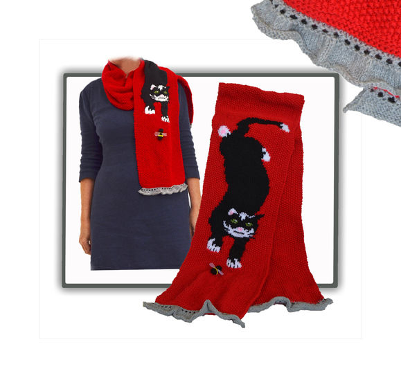 Funky Cat Scarf at Makerist - Image 1