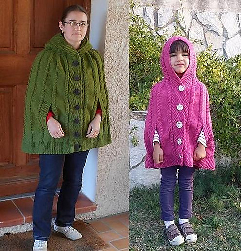 Kasha - cape for girls and women