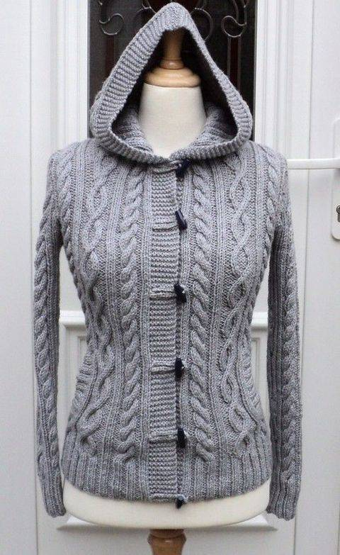 Women's Valerie Cardigan - Knitting Pattern