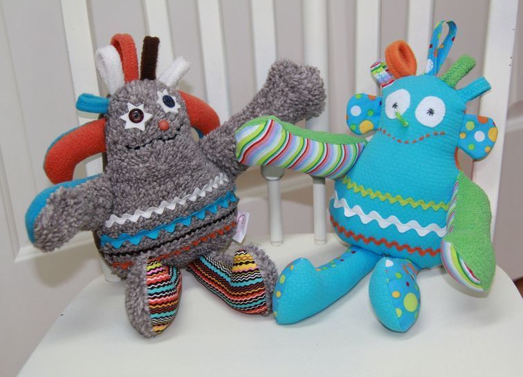 Especially Terrific Creature Toy Sewing Pattern at Makerist - Image 1