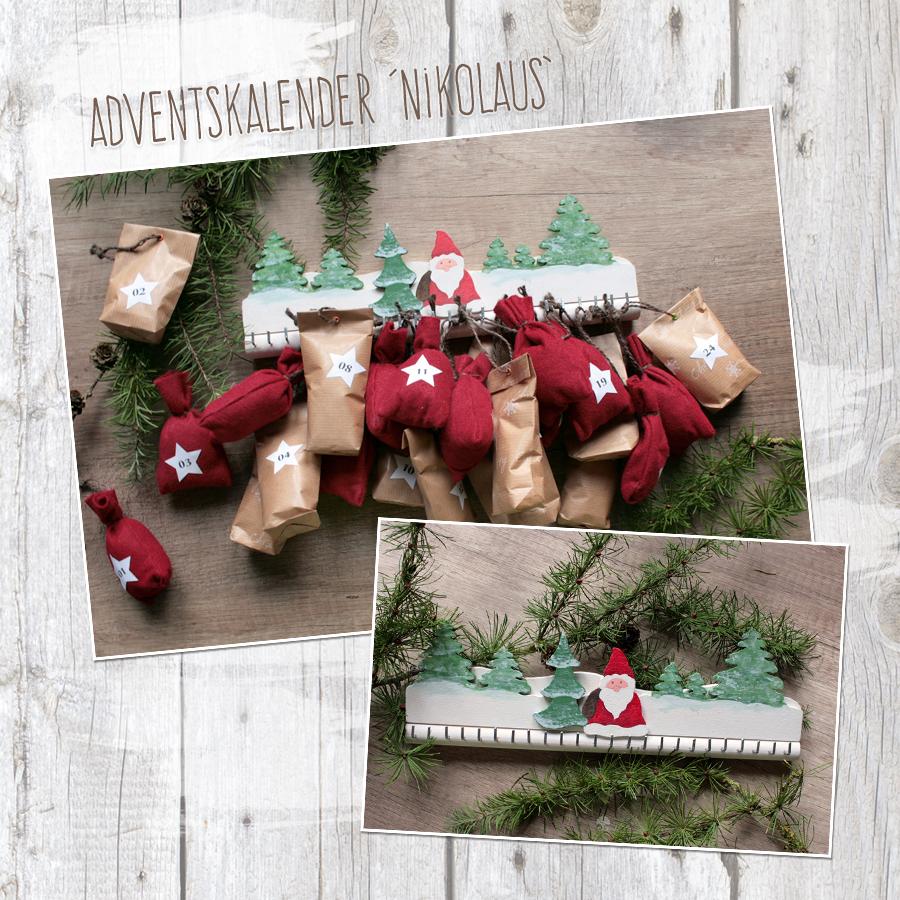 "Adventskalender ""Nikolaus"" - Bastelanleitung"