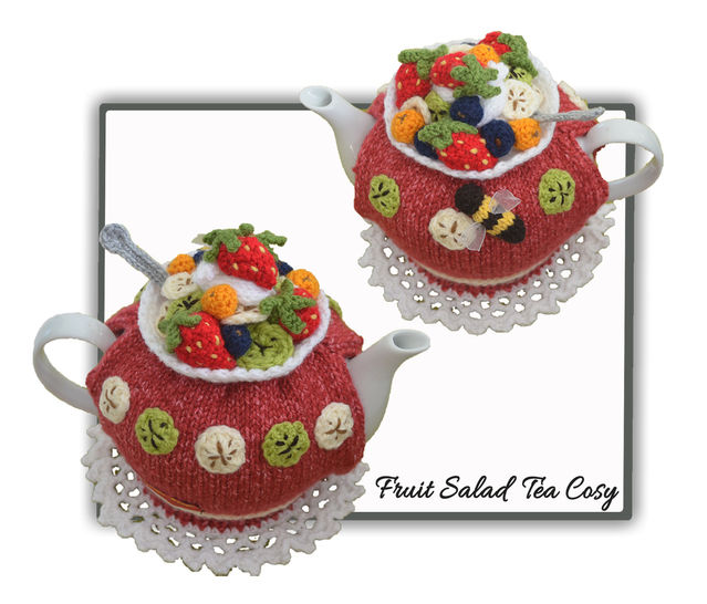 Fruit Salad Tea Cosy Pattern  at Makerist - Image 1