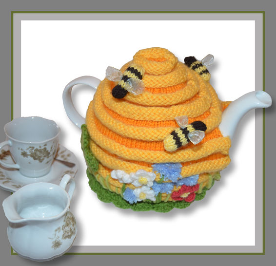 Bee Hive Tea Cosy at Makerist - Image 1