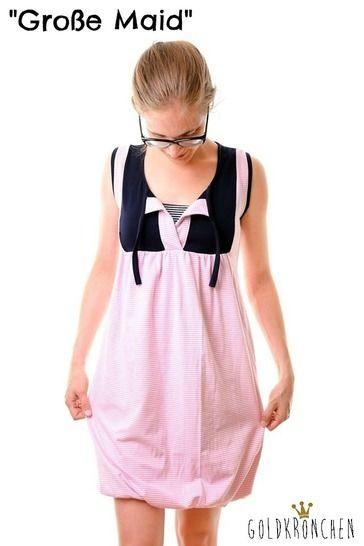 Große Maid Ebook, Shirt/ Kleid Gr.34/36-46/48 bei Makerist - Bild 1