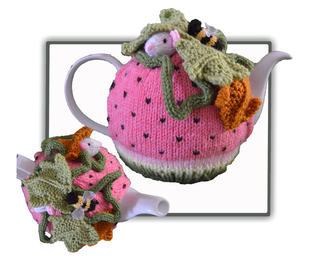 Watermelon Mouse Tea Cosy at Makerist - Image 1