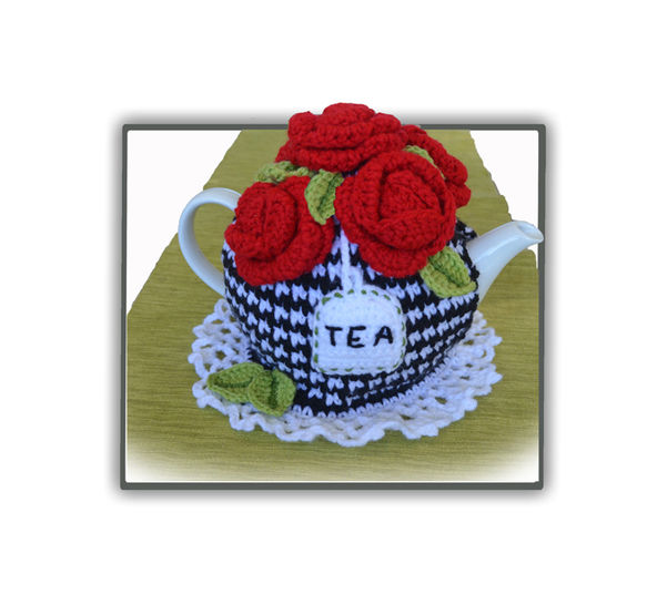 Red Roses Tea Cosy at Makerist - Image 1