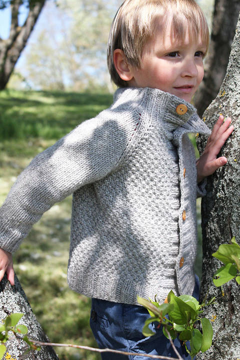 Joseph - Children Cardigan Knitting Pattern
