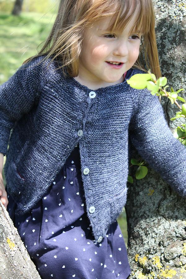 Starlette - Children Cardigan Knitting Pattern