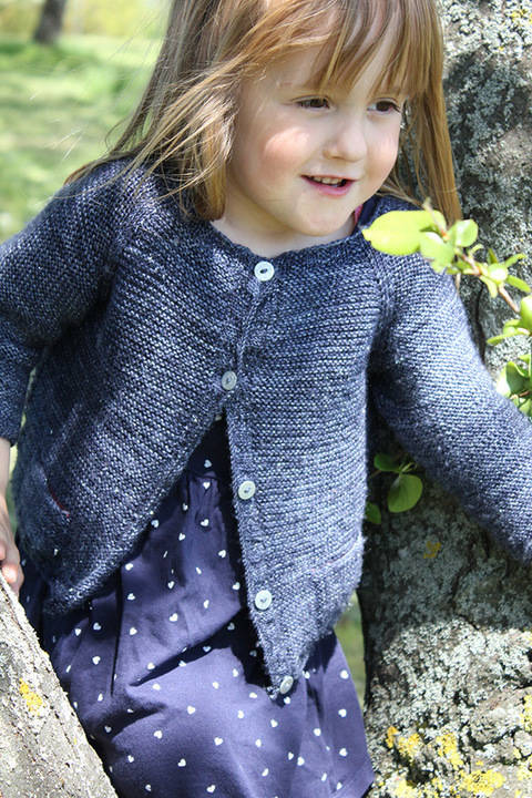 Starlette - Children Cardigan Knitting Pattern