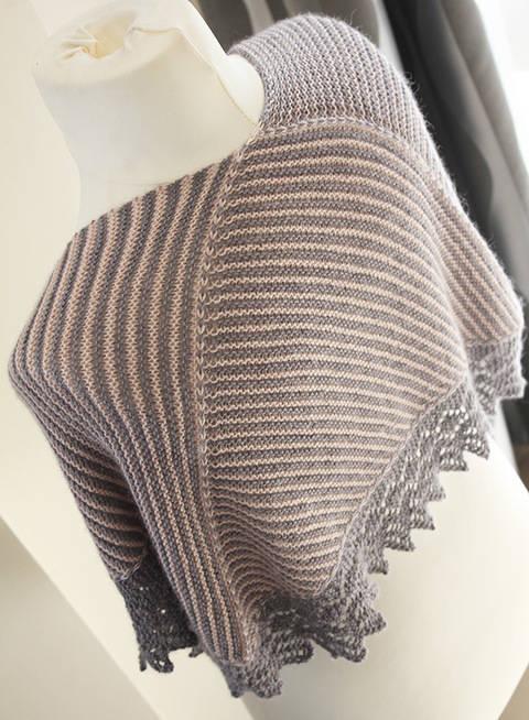 Setina - Shawl Knitting pattern